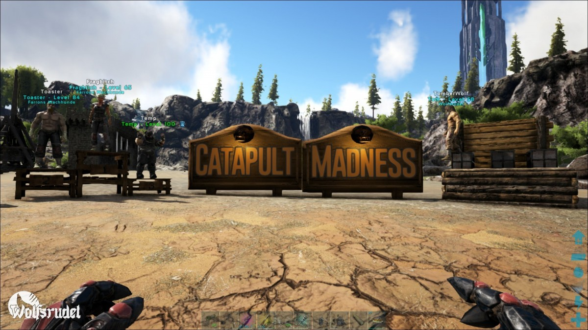 Catapult Madness Runde 1 (Teamspiel)